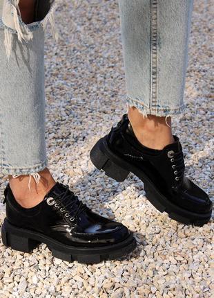 Туфли оксфорды женские