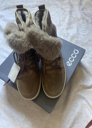 Новые тёплые 🥾 ботинки