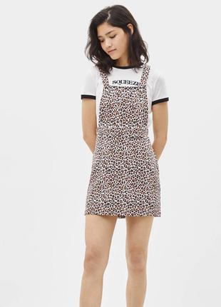 Сарафан платье бершка леопард