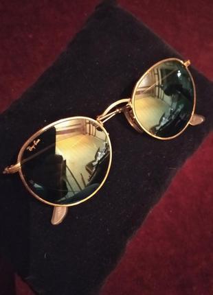 Очки солнцезащитные rey ban модель w1861 xpas. сша.