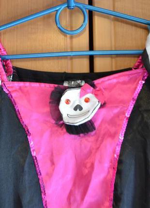 Карнавальный костюм пиратка на 12-13 лет, платье пиратка