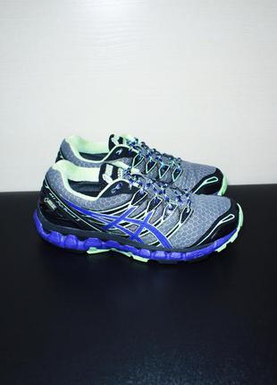 Оригинал asics gel fuji sensor женские кроссовки беговые для трейл бега