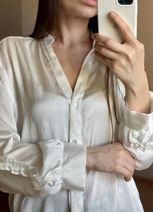 Zara s сорочка блуза
