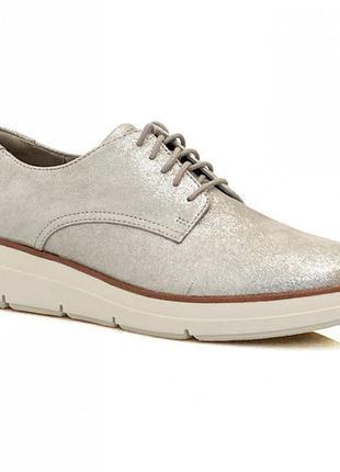 Туфли-мокасины clarks shaylin lace
