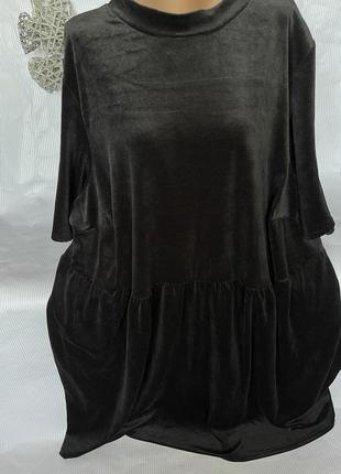 Роскошное платье бархат , большого размера