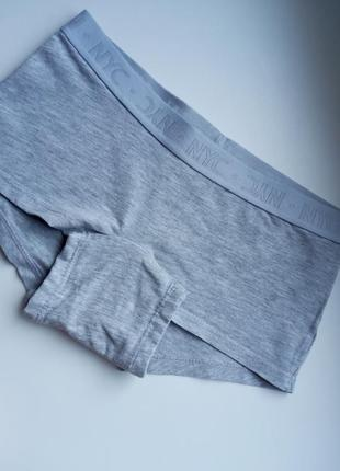 Хлопковые трусы шорты nyc h&m