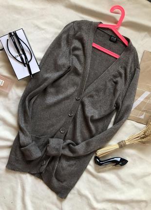 Шикарный  кашемировый кардиган цвета капуччино  от  pur , кашемировый свитер