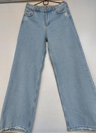 Новые! джинсы палаццо на высокой посадке