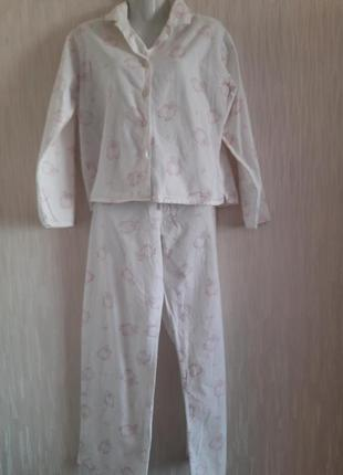 Пижама из фланели 10/40 размера