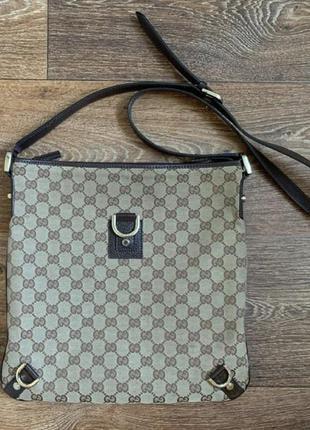 Gucci monogram gg canvas bag - vintage