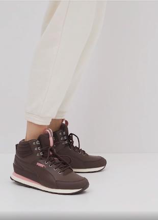 Высокие кроссовки, кеды ботинки puma оригинал новые