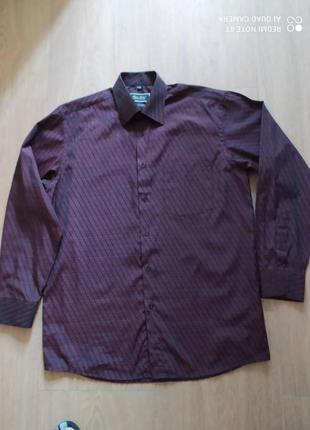 Рубашка  с длинным рукавом для высоких мужчин б/у  размер 48-50