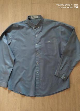 Рубашка  с длинным рукавом для мужчин б/у  размер 48-50