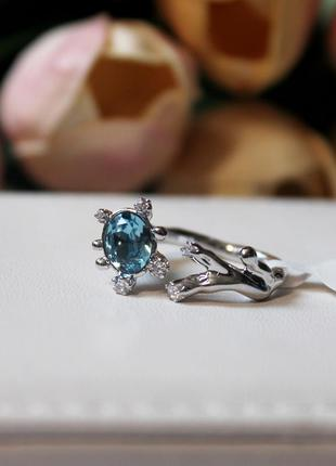Кольцо xuping с кристаллом swarovski  💎