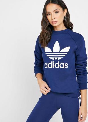 Свитшот кофта худи adidas originals logo большое лого оригинал адидас