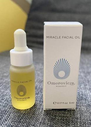 Масло для лица omorovicza miracle facial oil 5 мл
