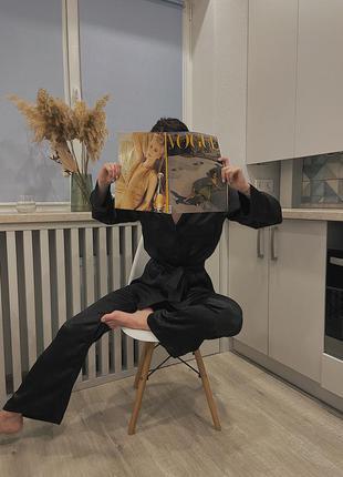 Шелковый костюм