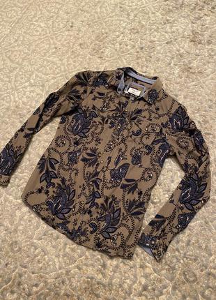 Женская рубашка massimo dutti оригинал