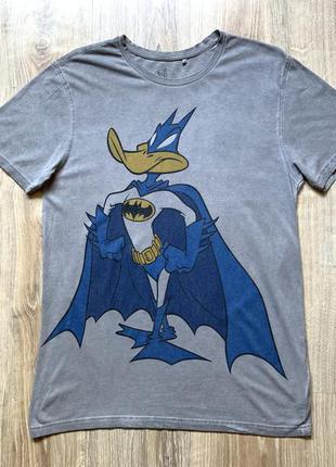 Мужская хлопковая футболка с принтом looney tunes