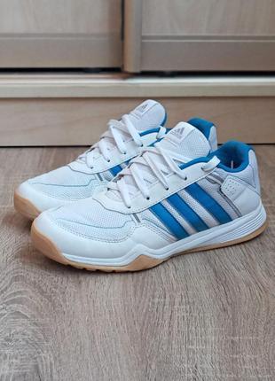 Женские кроссовки adidas court белые.беговые.игровые