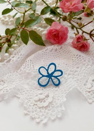 🦋 брошь 🦚 пин цветок металлическая в эмали символическая
