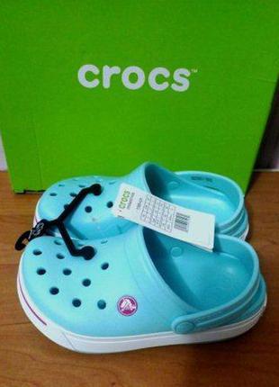 Сабо crocs kids crocband ii 32-33, 33-34, оригинал
