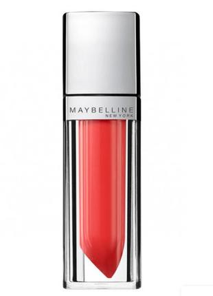 Жидкая помада maybelline сolor elixir, 400 alluring coral
