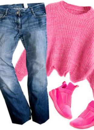 Прямые джинсы размер 46-48