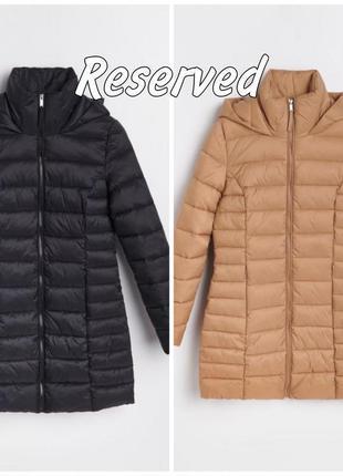 Стёганая удлинённая куртка reserved