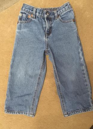 Винтажные джинсы levi's 24м 2года