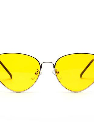 Очки женские желтые винтаж