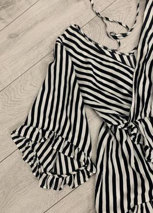 Кофта блузка рубашка в полоску