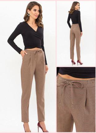 Стильные брюки *костюмка лапка* (2 цвета) * отличное качество