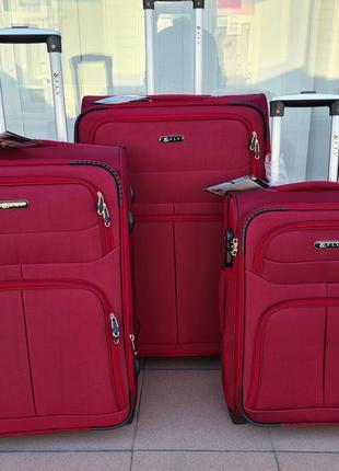 Тканевый чемодан  fly  на 2-х  колеса poland 🇵🇱