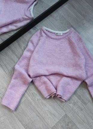 Ніжний вкорочений светр від h&m 🕊️