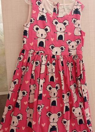 Платье коала