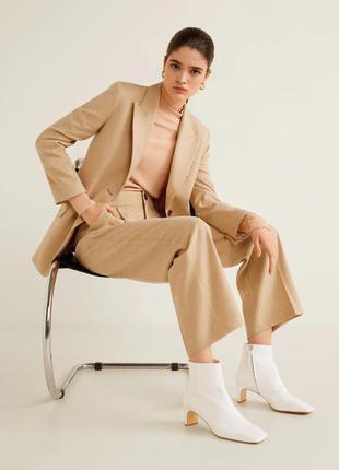 Новые шерстяные брюки mango, размер м, 38