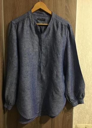 Блузочка льняная