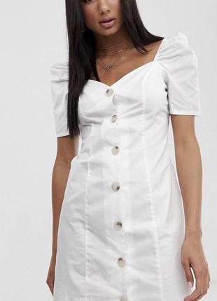 Новое летнее платье с бирками брендовое с пуговицами missguided