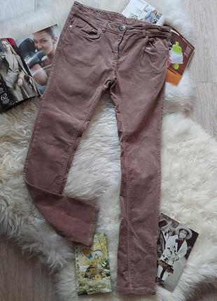 🌟💖🌟 стильные пудровые микровельветовые джинсы