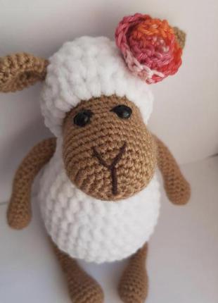 Игрушка овечка долли с капустой