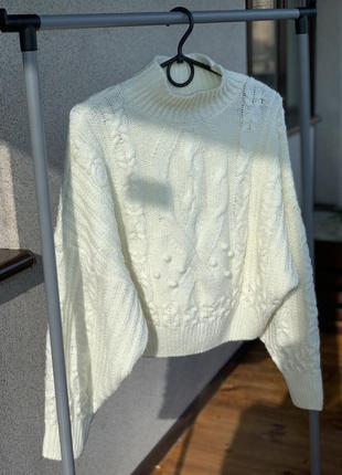 Свитер вязаный / свитер тёплый