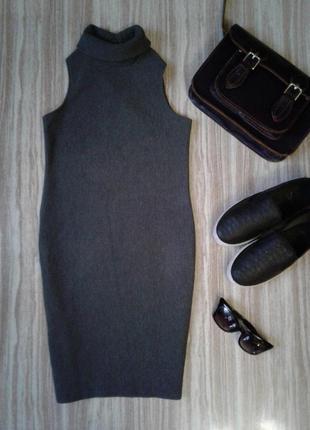 Актуальное платье в рубчик  primark