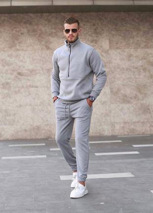 Спортивный костюм мужской теплый, спортивний костюм чоловічий на флісі
