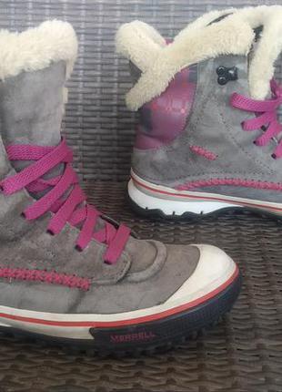 Трекинговые ботинки merrell