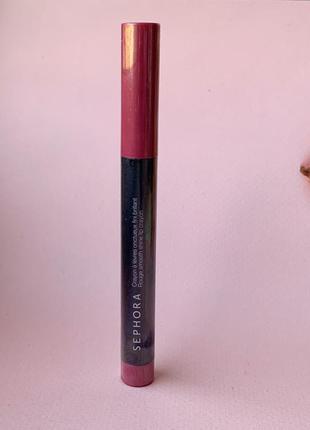 Малиновая помада-карандаш для губ sephora  оттенок 09 summer love