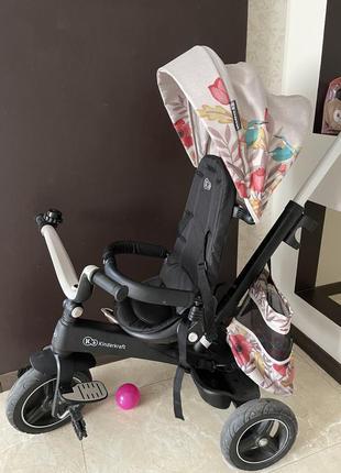 Трьохколісний велосипед - коляска kinderkraft easytwist bird