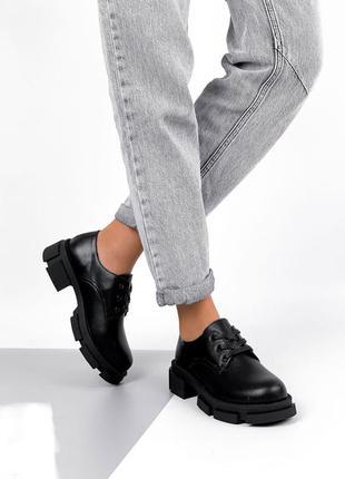 Распродажа кожа броги туфли демисезон на осень весна демисезон шнурках женские наплатфрме