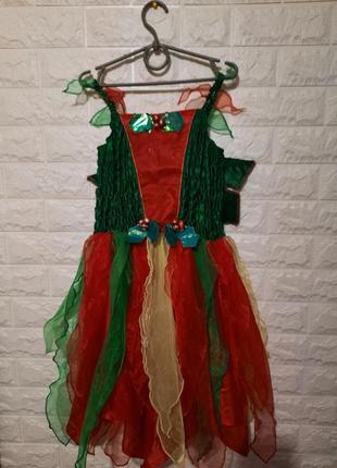 Карнавальный костюм калина, калинка, цветочек, рябина, ягодка