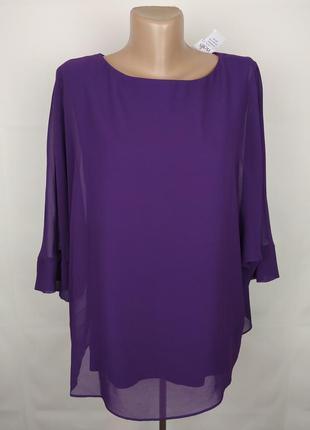 Блуза новая шикарная фиолетовая wallis s